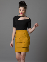 Pleated Tiered Skirt - WhySoBlue