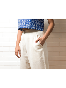 Coffee run Linen Pants