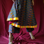 Maya Ikat Kurta-Pants Set