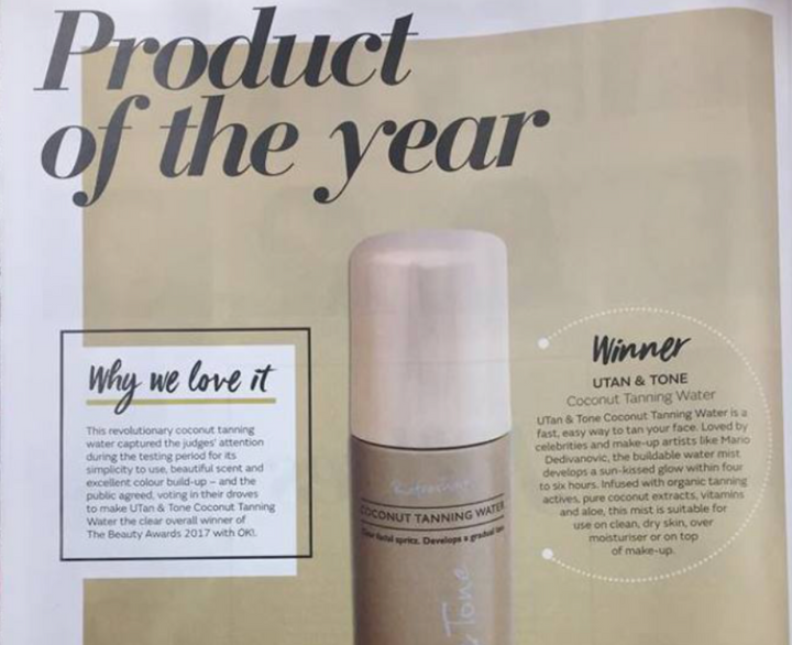 outlet- award winning face tan kit