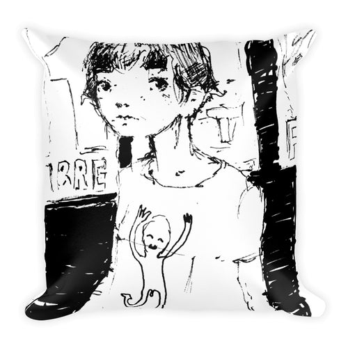 Square Pillow • Post Rock 03/2017