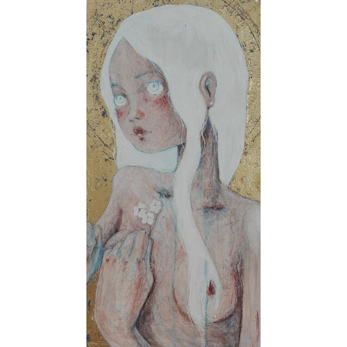 2018 Sposa Bambina/Child Marriage dipinto sacro sacre painting by Diego Gabriele