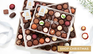 Chocilo Melbourne Christmas Chocolates with Chocolatier Chocolate. Best Australia Chocolate for festive entertaining and gifts.