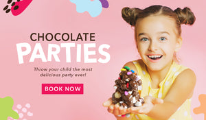 Chocilo Melbourne Kids Chocolate Party Invitation