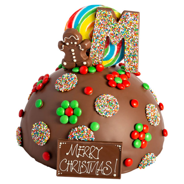 Christmas Chocolate Smash Cakes like a pinata, filled with quality lollies. Melbourne in-store pickup only.