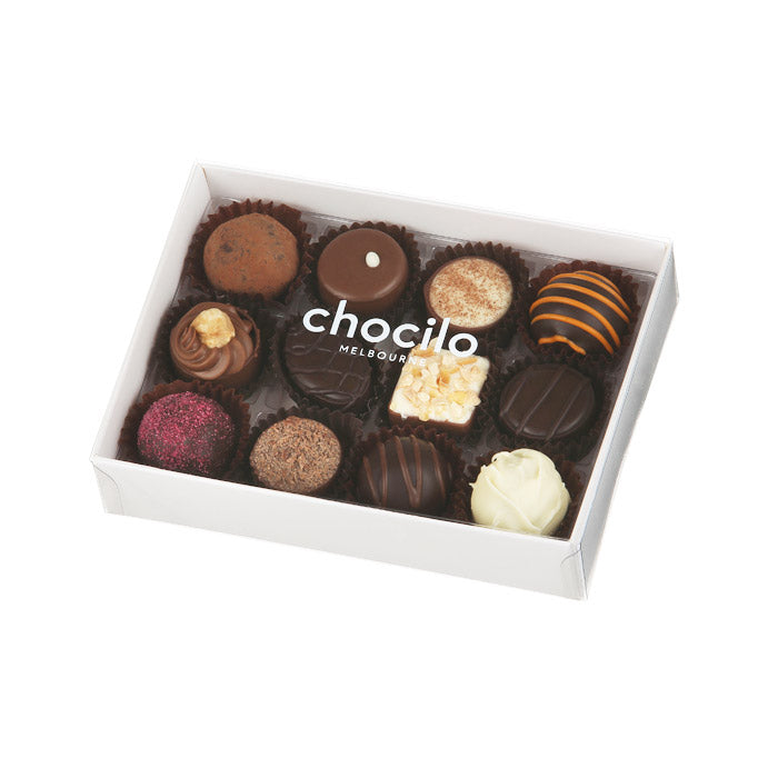 100 - 140g Chocilo 12 Pack Chocolate Assortment Gift Box