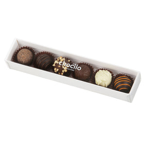 1042 - 75g Chocilo 6 Pack Chocolate Assortment Gift Box