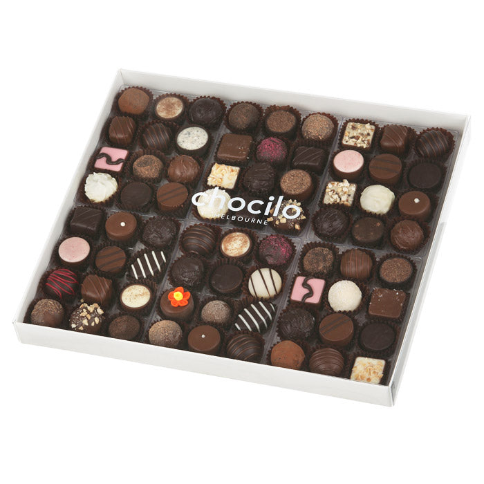 119 - 860g Chocilo 72 Pack Chocolate Assortment Gift Box