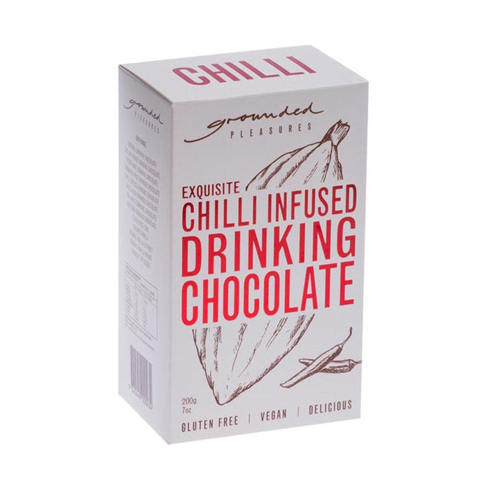 Grounded Pleasures Chilli Infused Drinking Chocolate - 200g
