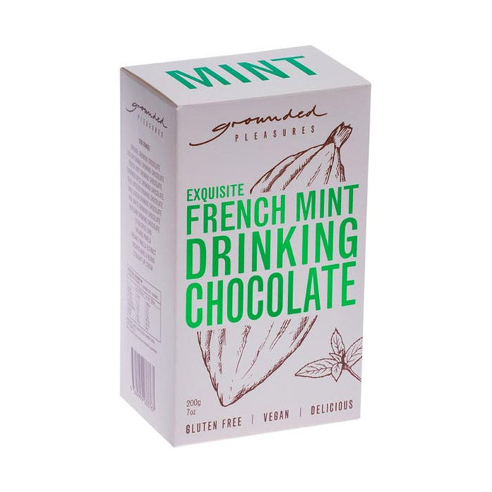 Grounded Pleasures French Mint Drinking Chocolate - 200g
