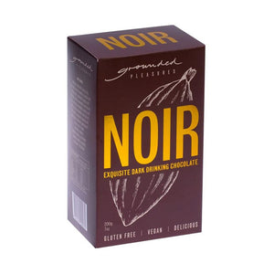 Grounded Pleasures Noir Drinking Chocolate - 200g