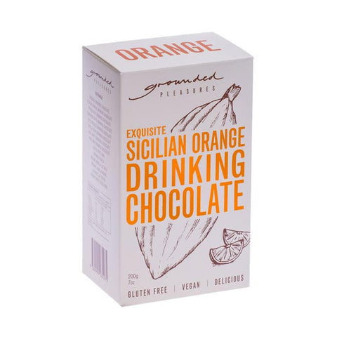 Grounded Pleasures Sicilian Orange Drinking Chocolate - 200g