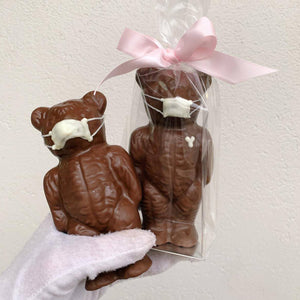 "Milk Chocolate "" ISO Mask"" Bear - 70g"