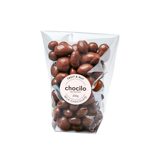 1000 - Chocilo - 250g Milk Chocolate Coated Fruit & Nut Gift Bag
