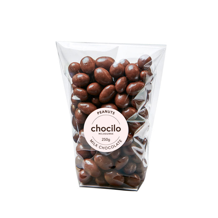1006 - Chocilo - 250g Milk Chocolate Coated Peanuts Gift Bag