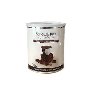 Fraus Seriously Rich Thick Dark European Hot Chocolate Powder.