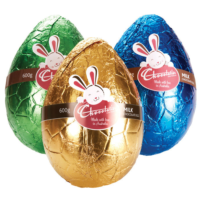 Chocolatier Australia Milk Chocolate Egg - 600g