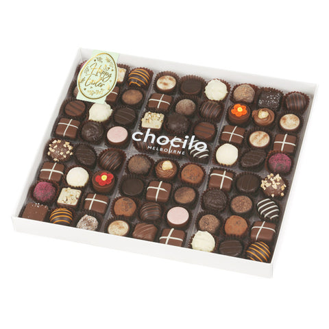 860g Chocilo Melbourne 72 Pack Easter Chocolate Assortment