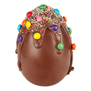 "200g Chocilo Melbourne Milk Chocolate ""Drip"" Easter Egg"