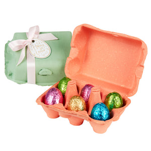 90g Chocilo Melbourne 6 Pack Milk Chocolate Easter Egg Carton