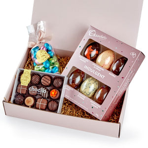 Chocilo Melbourne Hoppy Easter Milk Chocolate Hamper