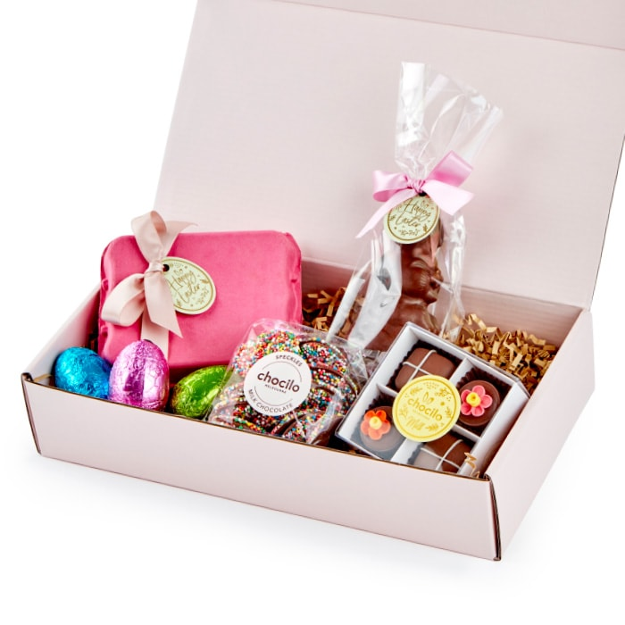 Chocilo Melbourne Some Bunny Loves Me Chocolate Easter Hamper