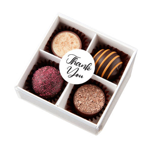 Chocilo Melbourne Thank You Gift 4 Pack Assorted Chocolates Made in Australia