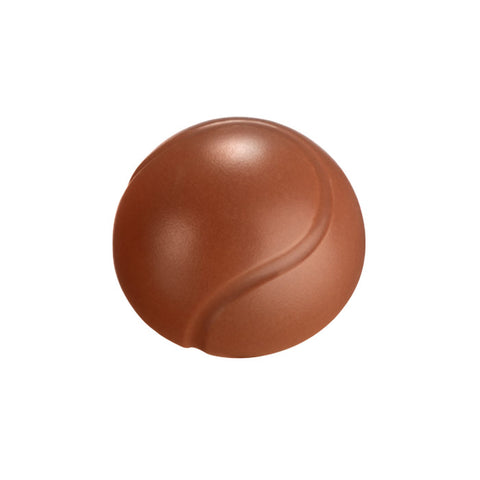 Chocilo Melbourne Couverture Milk Chocolate Tennis Ball. Made in Australia.