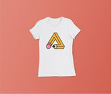 Trianglencil - Slim Fit T-Shirt