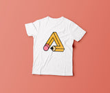 Trianglencil - T-shirt