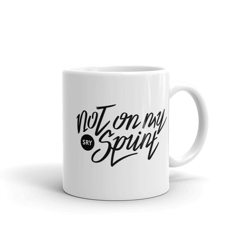 Not On My Sprint - Mug