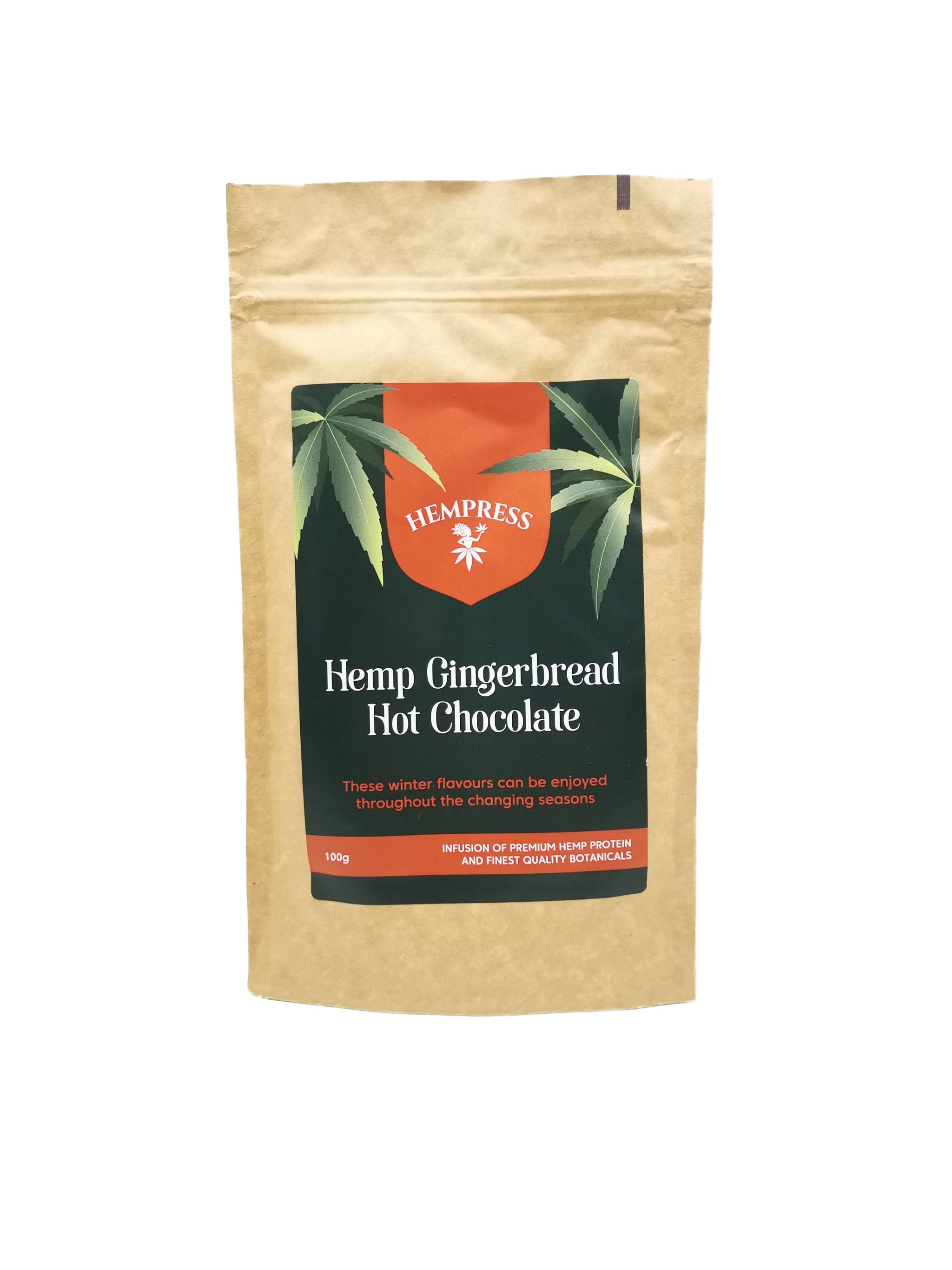 Hemp Protein Gingerbread Hot Chocolate