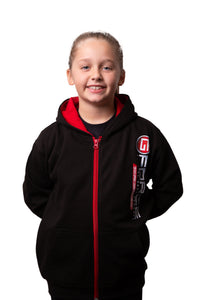 Juniors Hoodie - Zip-Up Contrast