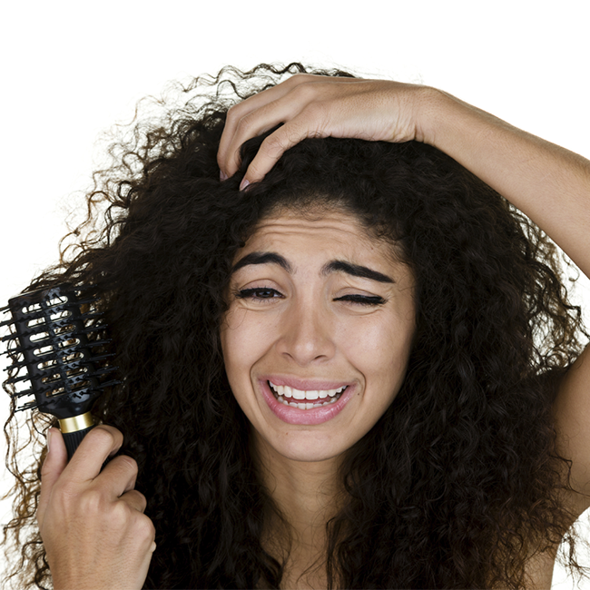 Your Hair Won't Comb Itself (Hair Maintenance)