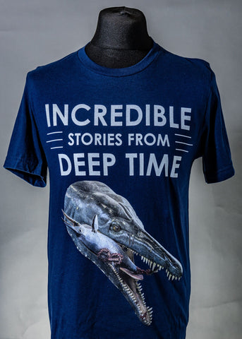 Goliath T-Shirt (Incredible Stories from Deep Time)