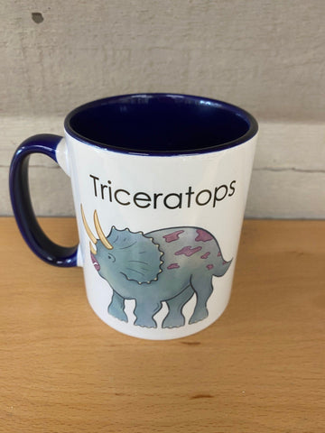Etches Collection Triceratops Mug