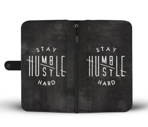 Stay Humble Phone Wallet Case - Canvas Print USA