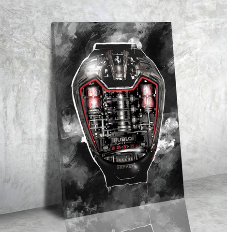 Timeless (Hublot) - Canvas Print USA