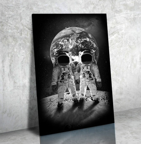 Skull Nauts - Canvas Print USA