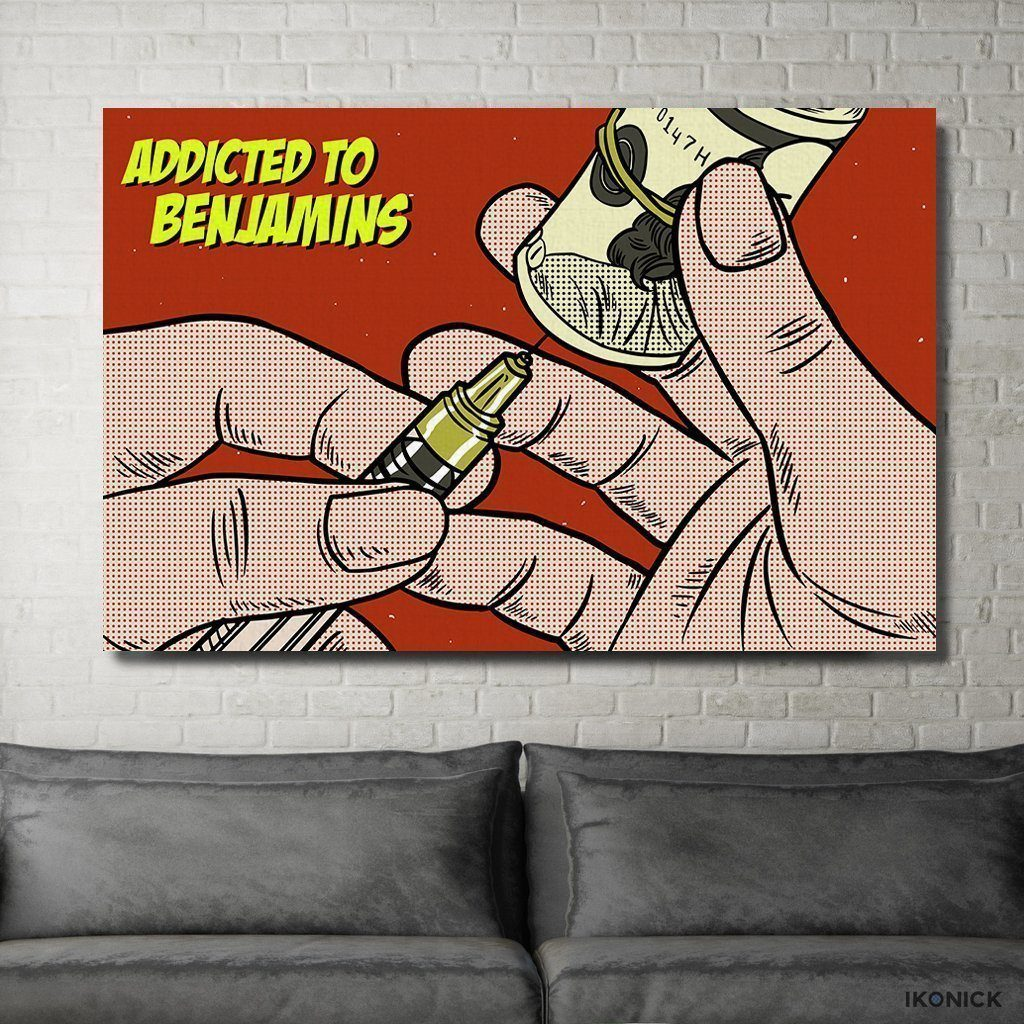 Addicted to Benji's - Canvas Print USA