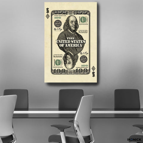 Cash Card - Canvas Print USA