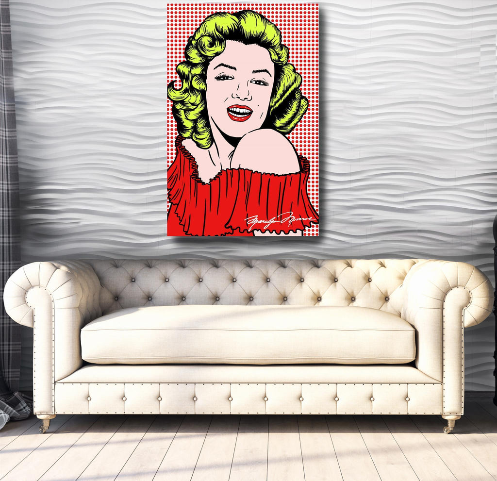 Marilyn Monroe - Canvas Print USA