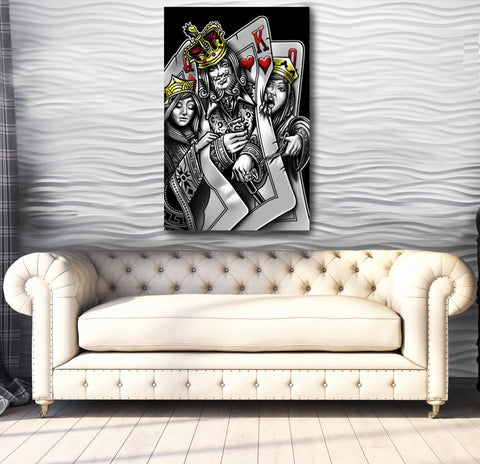 The King is Back - Canvas Print USA