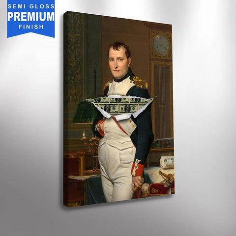 Napolean Moneyparté - Canvas Print USA