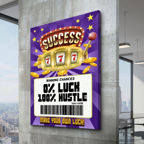 Jackpot Success - Canvas Print USA