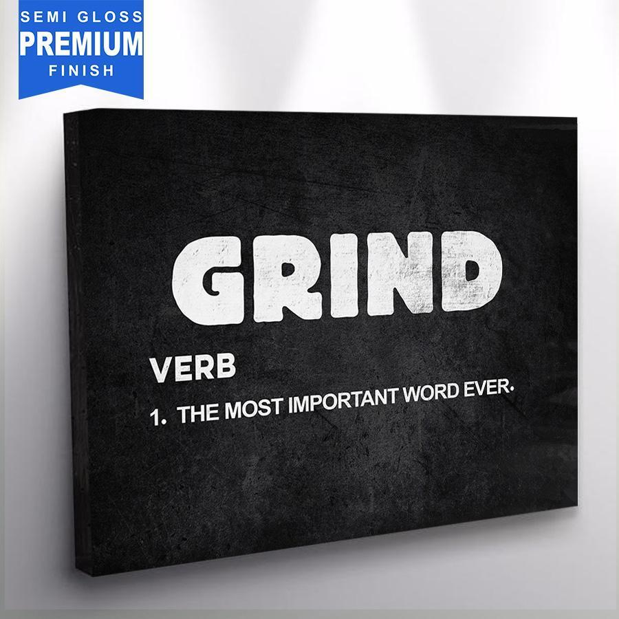 Grind - Canvas Print USA