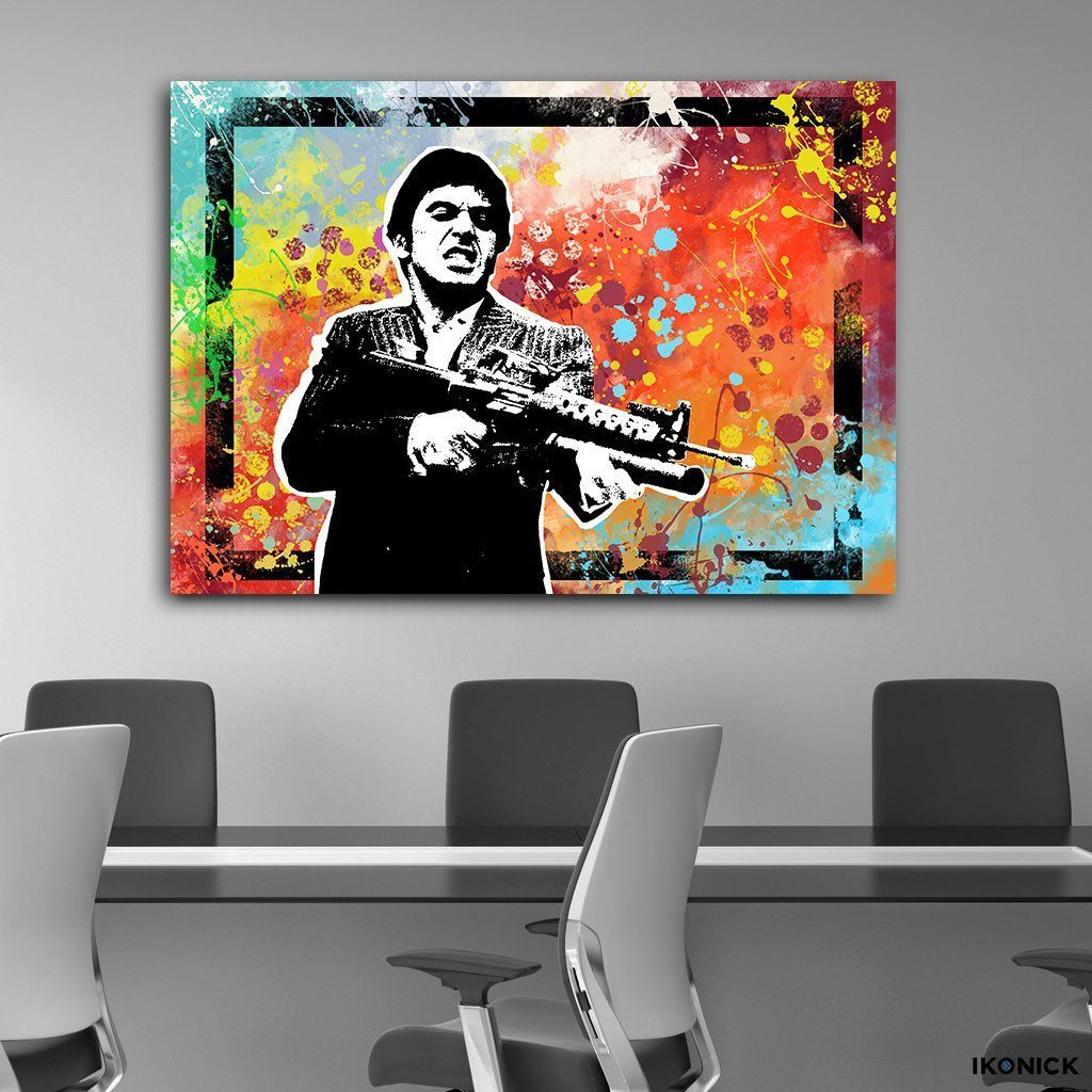 Say Hello To My Little Friend - Canvas Print USA