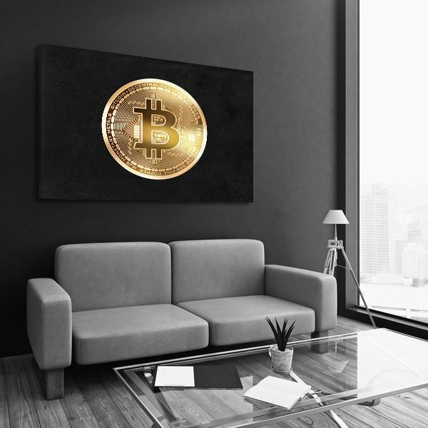 Bitcoin - Canvas Print USA