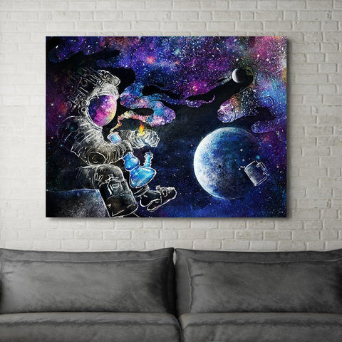 Space Dreams - Canvas Print USA