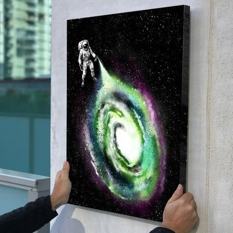 Cosmic Spray - Canvas Print USA